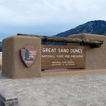 great sand dunes sign ken lund flickr wildearth guardians