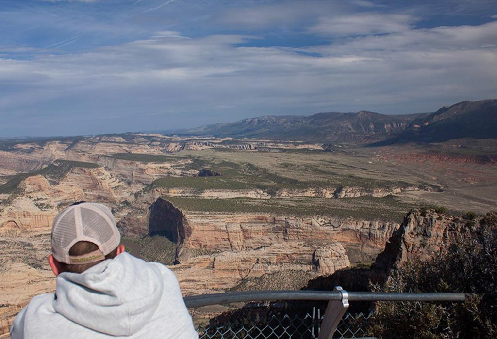 man at dinosaur national monument nps wildearth guardians