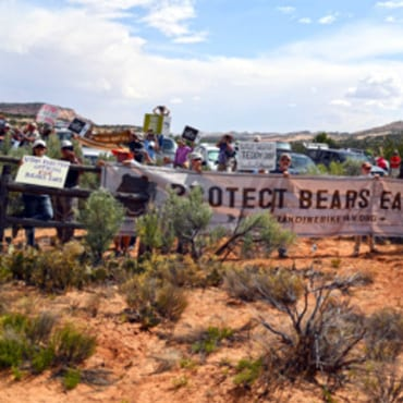natlmonument reduction protest wildearth guardians US Dept Interior 370