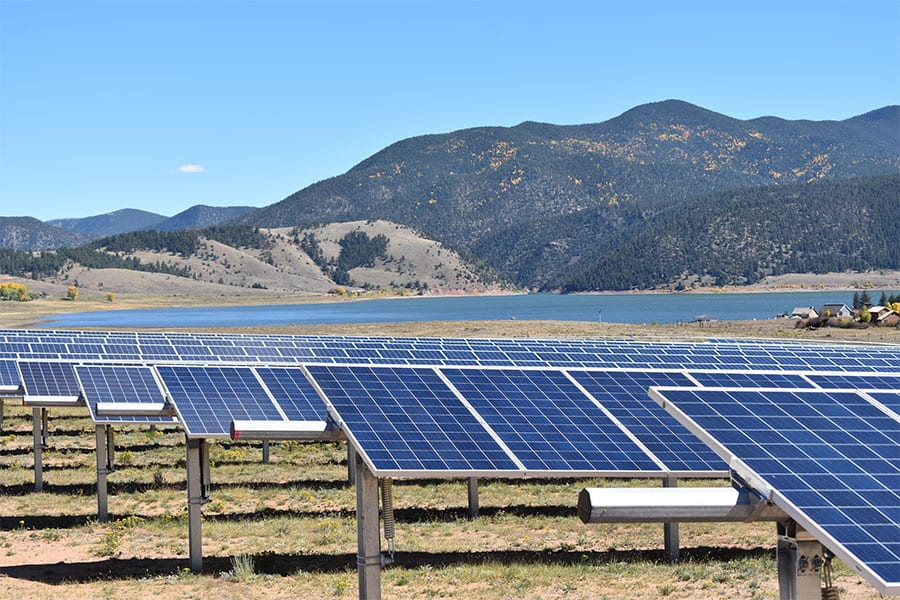 solar array in sunlight kit carson electric cooperative wildearth guardians