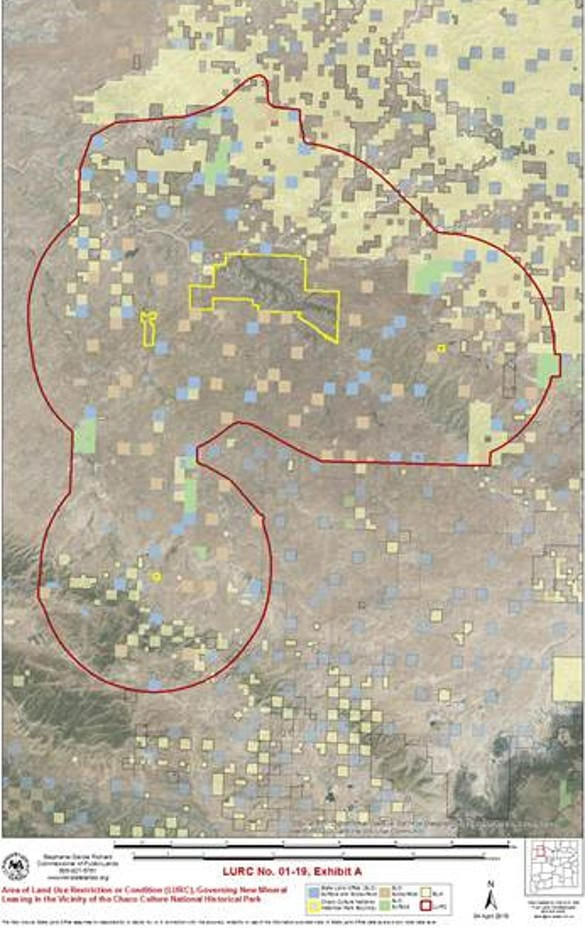 chaco map wildearth guardians