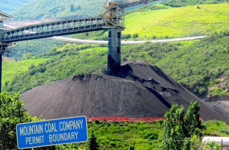 coal mine pile wildearth guardians