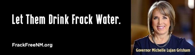 Frack water billboard 2
