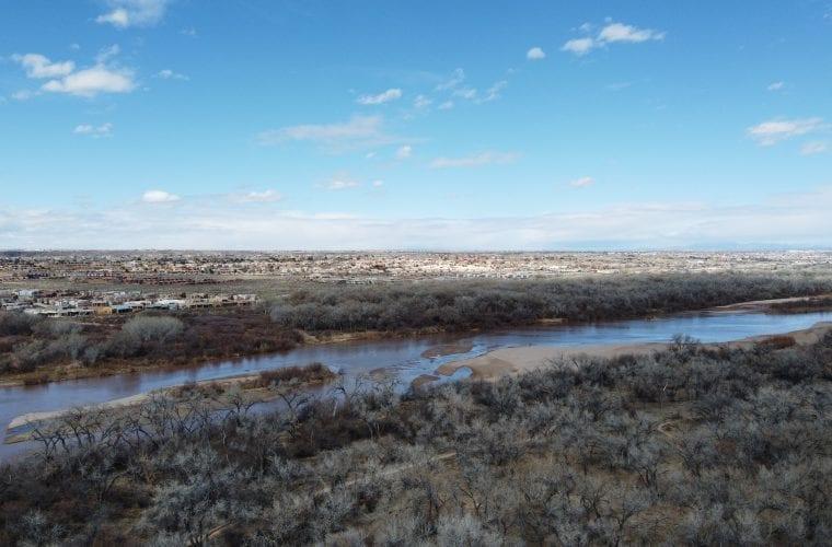 Rio Grande Flows Diminish in Dry Spring