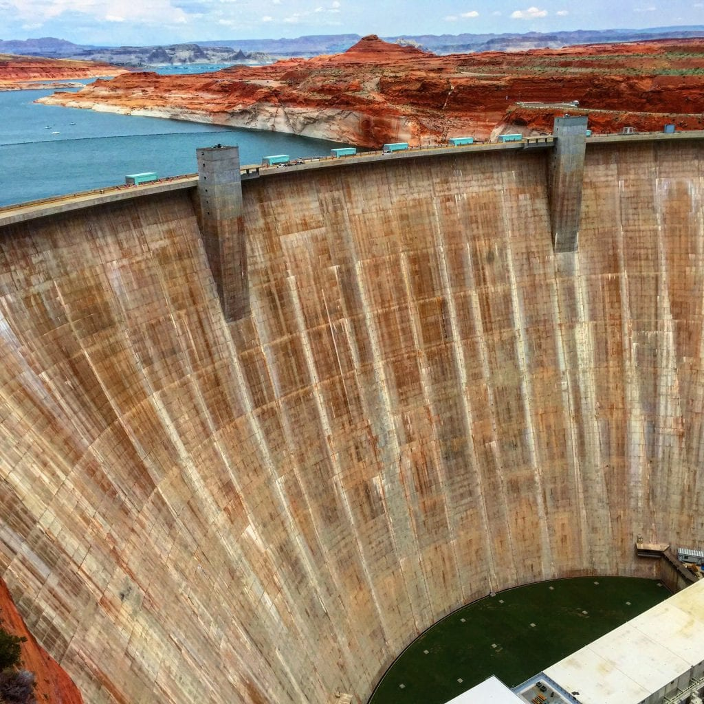 Glen Canyon Dam and Lake Powell Reservoir