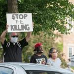 George Floyd Killing Protest WildEarth Guardians credit Fibonacci Blue
