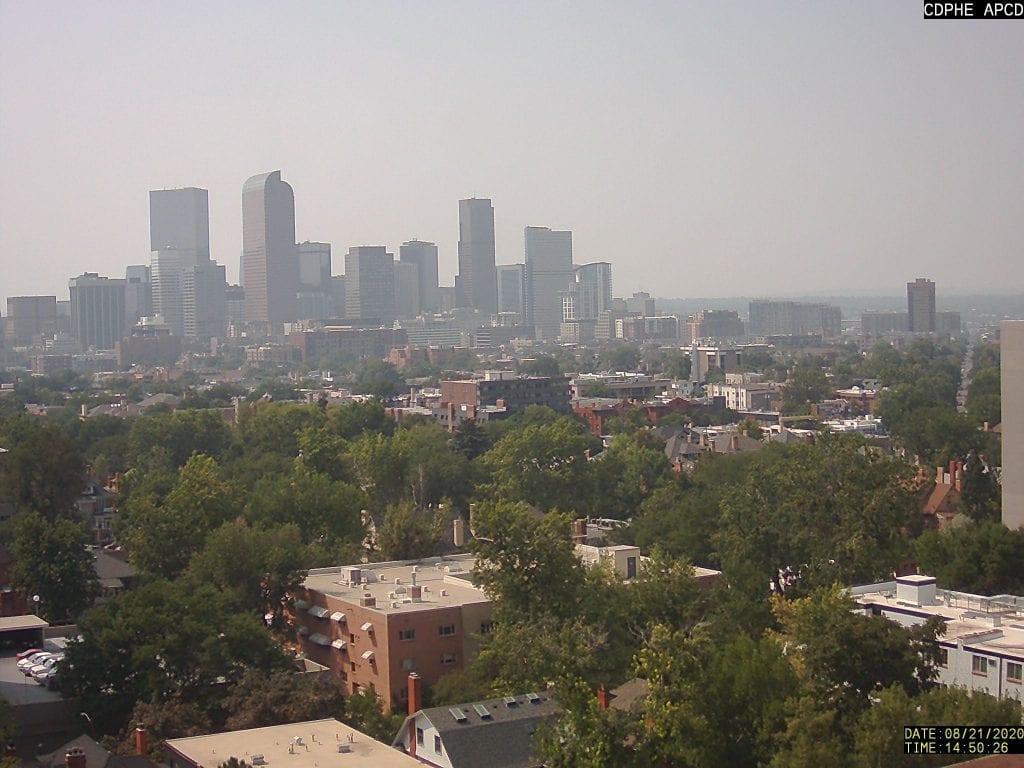 Denver Colorado smog