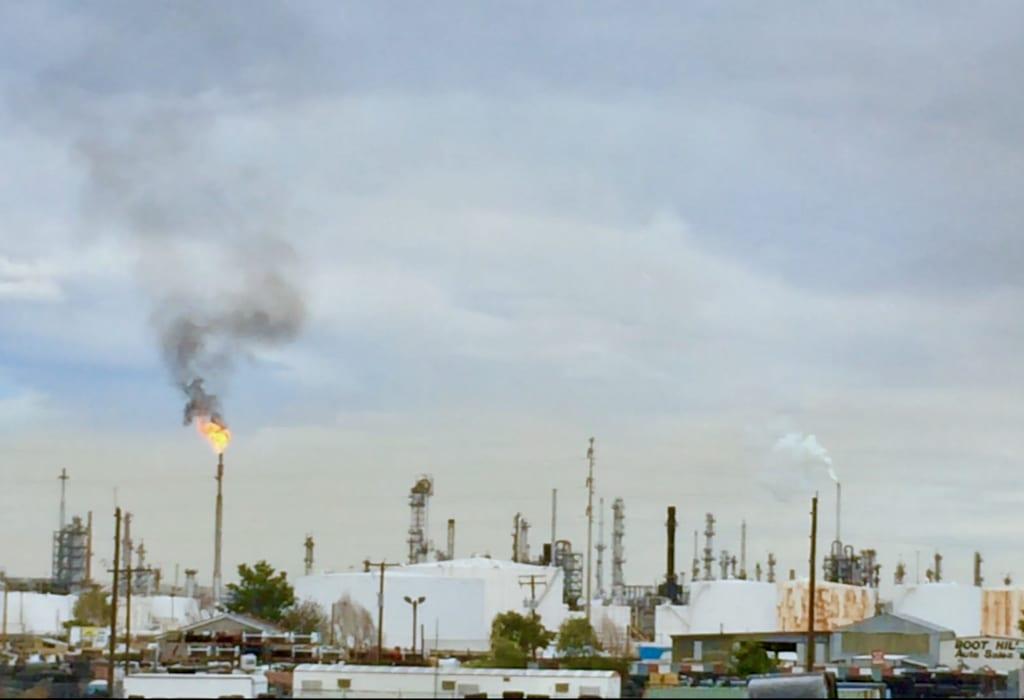 Suncor Oil Refinery Denver