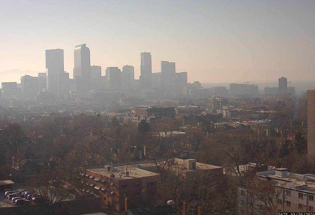 Denver air pollution